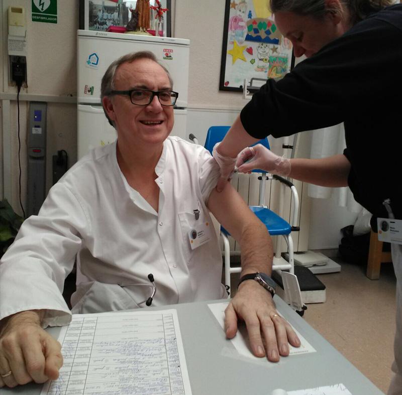 Campanya vacunació grip