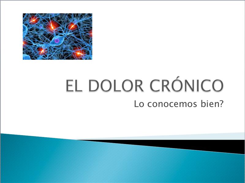 Sesion clínica - Dolor crónico