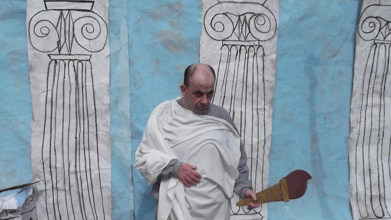 Festa grega a Les Hortènsies