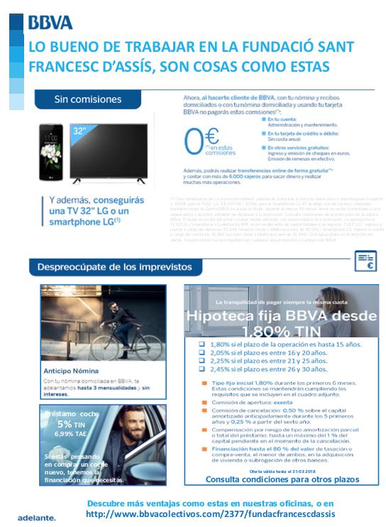 Promoció BBVA