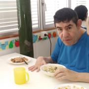 Menjant a Les Hortènsies
