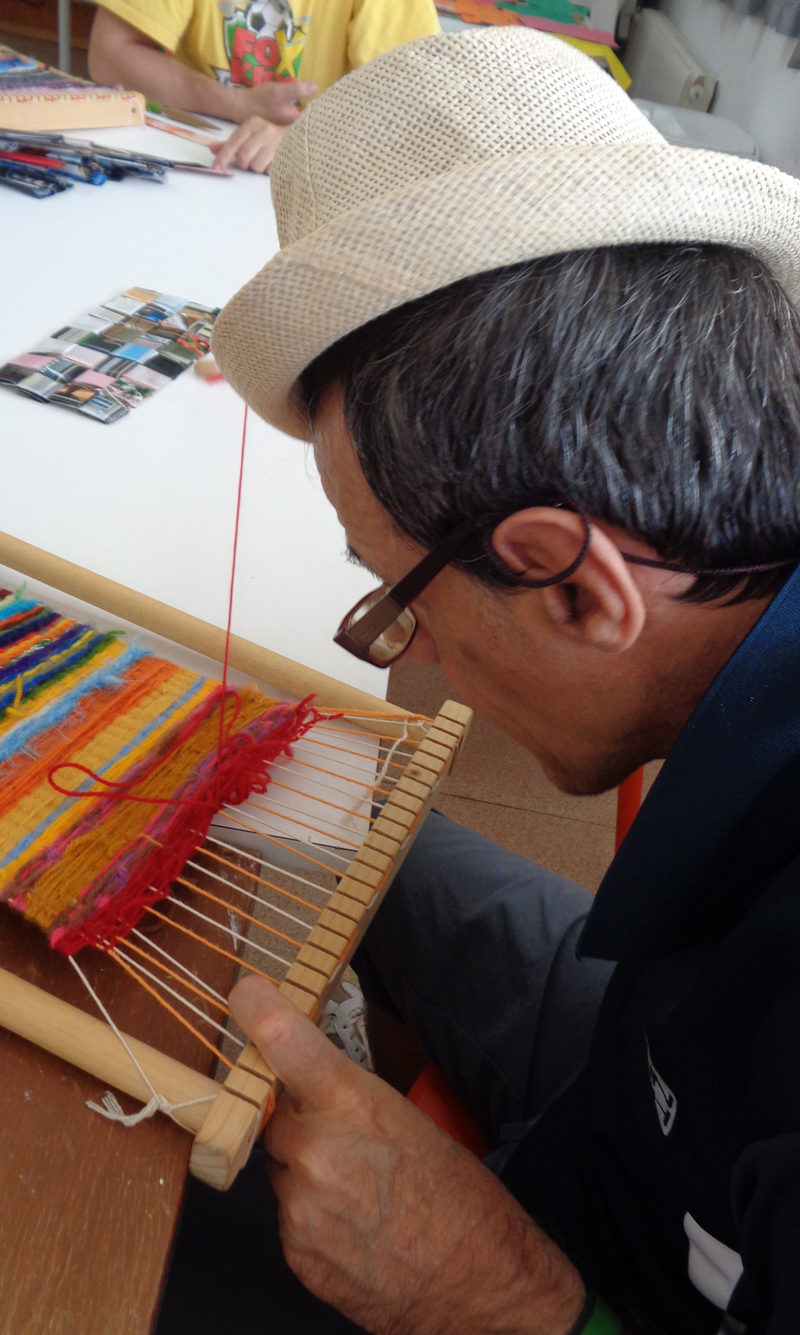 Treballant els teixits