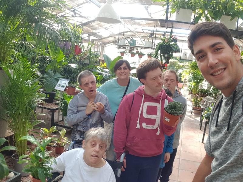 L'hort a la Residència per a persones amb discapacitat Les Hortènsies