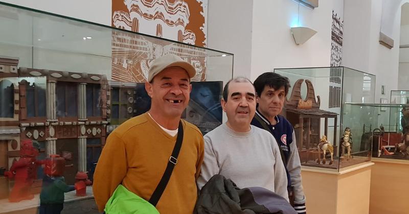 Residents de Les Hortènsies al Museu de la Xocolata