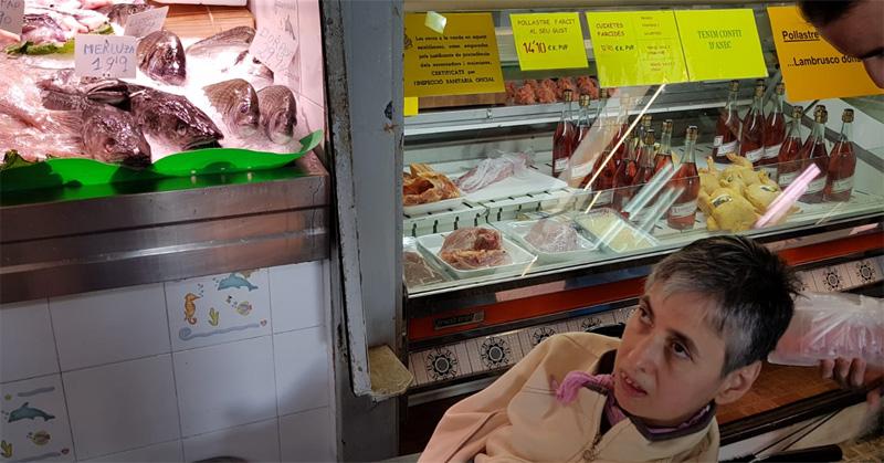 Visita al mercat d'Alella