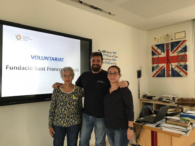 Xerrada per a escoles sobre projecte de Voluntariat a la Fundació Sant Francesc d'Assís