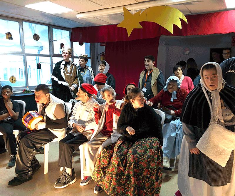 Festa de Nadal a Les Hortènsies