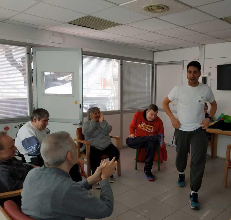 Motricitat al Centre per a persones amb discapacitat Les Hortènsies