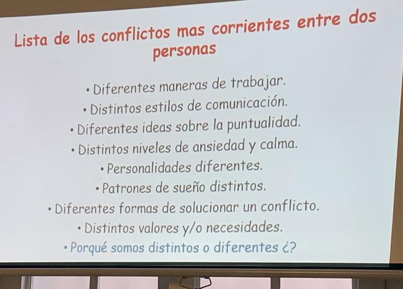 Curs de resolució de conflictes