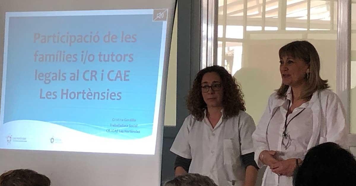 Sessions informatives per a famílies al CR i CAE Les Hortènsies