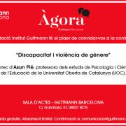 Conferència Discapacitat i Violèn cia de gènere - Guttmann