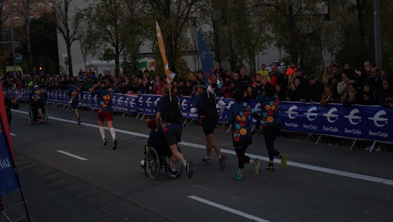 Les Hortènsies a la Cursa del Nassos de Barcelona