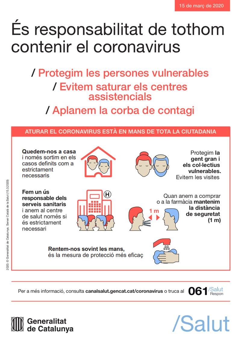 Consells de prevenció COVID-19