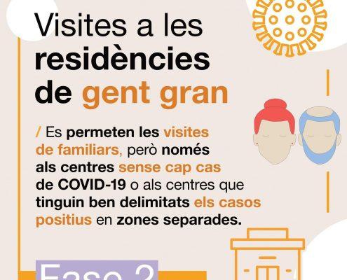 Visites a les Residències de gent gran
