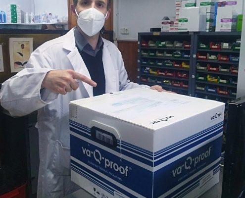 Vacunes Covid-19 a Farmàcia CSAI Can Torras