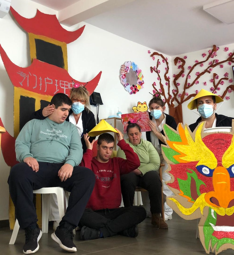 Festa xinesa a Les Hortènsies