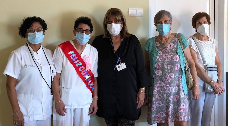 La Ludi es jubila després de molts anys ajudant a empènyer el projecte de la Fundació