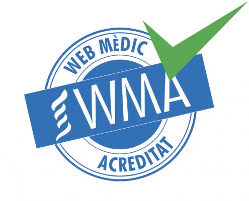 Segell WMA Web Mèdica Acreditada